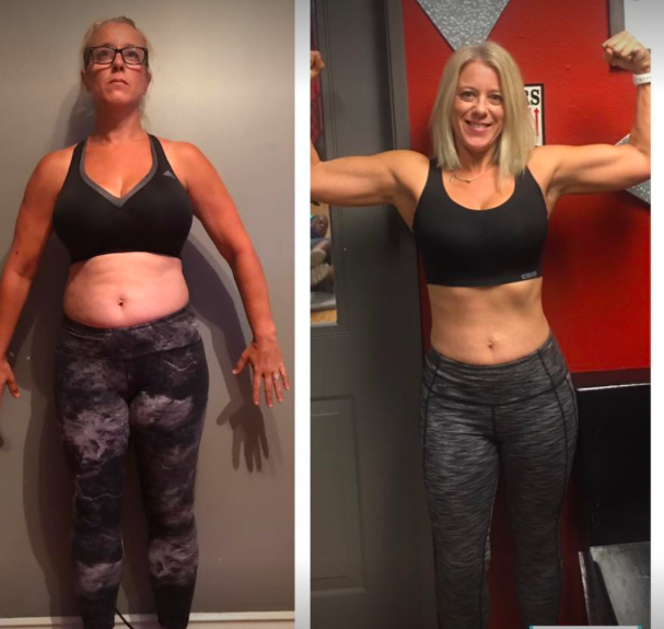 Jen Lost 20lbs in 8 weeks